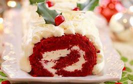 Christmas Celebration Sponge Roll Cake