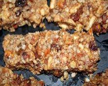Whole Grain Nut Energy Bar