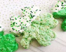 St Patrick's Day Rice Snacks