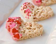 Valentine Rice Snacks