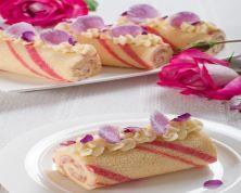 Mothers Day Sponge Roll Cake