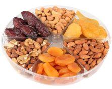 NEW YEAR'S Celebration fruit and nut tray