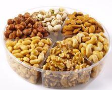 New Year's Celebration Assorted Nut Tray