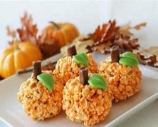 Pumpkin Puffed Whole Grain Snacks