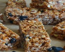 Blueberry Nut Granola Bars